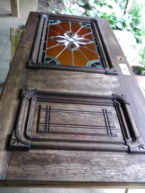 Custom Made Antique Entry Door Restoration
