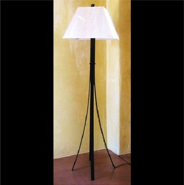 Custom Made Custom Fabricated Floor Lamp