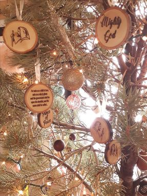 Custom Made Holiday Christmas Ornaments