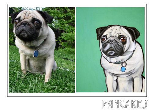 Custom Made Pancakes- Pawblo Picasso Pet Paintings