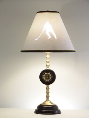 Custom Made Hockey Table Lamp