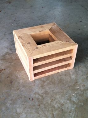 Custom Made Cedar Planter Box / Storage Box