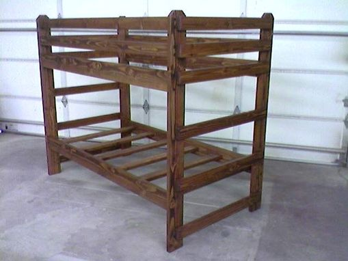 Custom Made Viking Standard Twin/Twin Bunk Bed