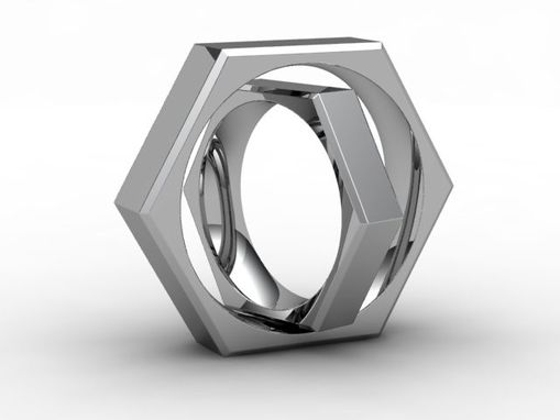 Custom Made Hexagon Ring