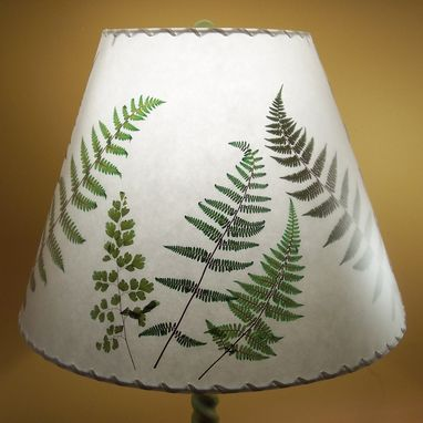 Custom Made Fern Lampshade