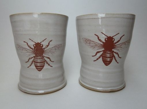 Custom Made Bee Cups