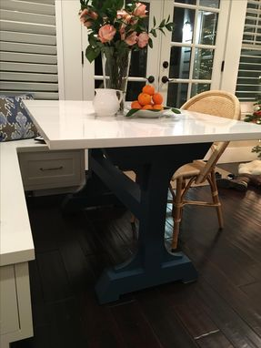 Custom Made Custom Modern Farmhouse Table Base