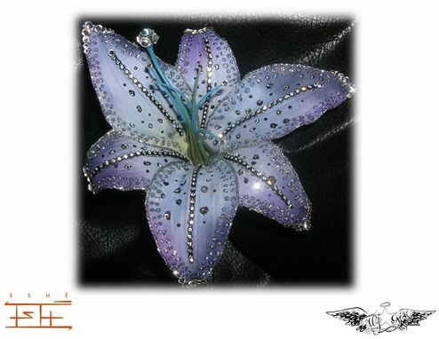 Custom Made Two Tone Blue And Purple Lily