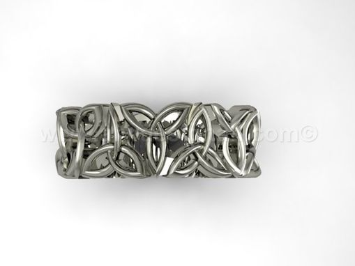 Custom Made Irish Knot Infinity Ring