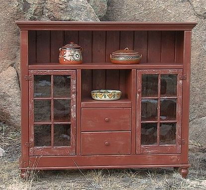 Custom Made Betsy's Window Hutch
