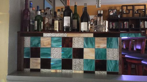 Custom Made Custom Mosaic Bar