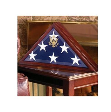 Custom Made Coffin Flag Case