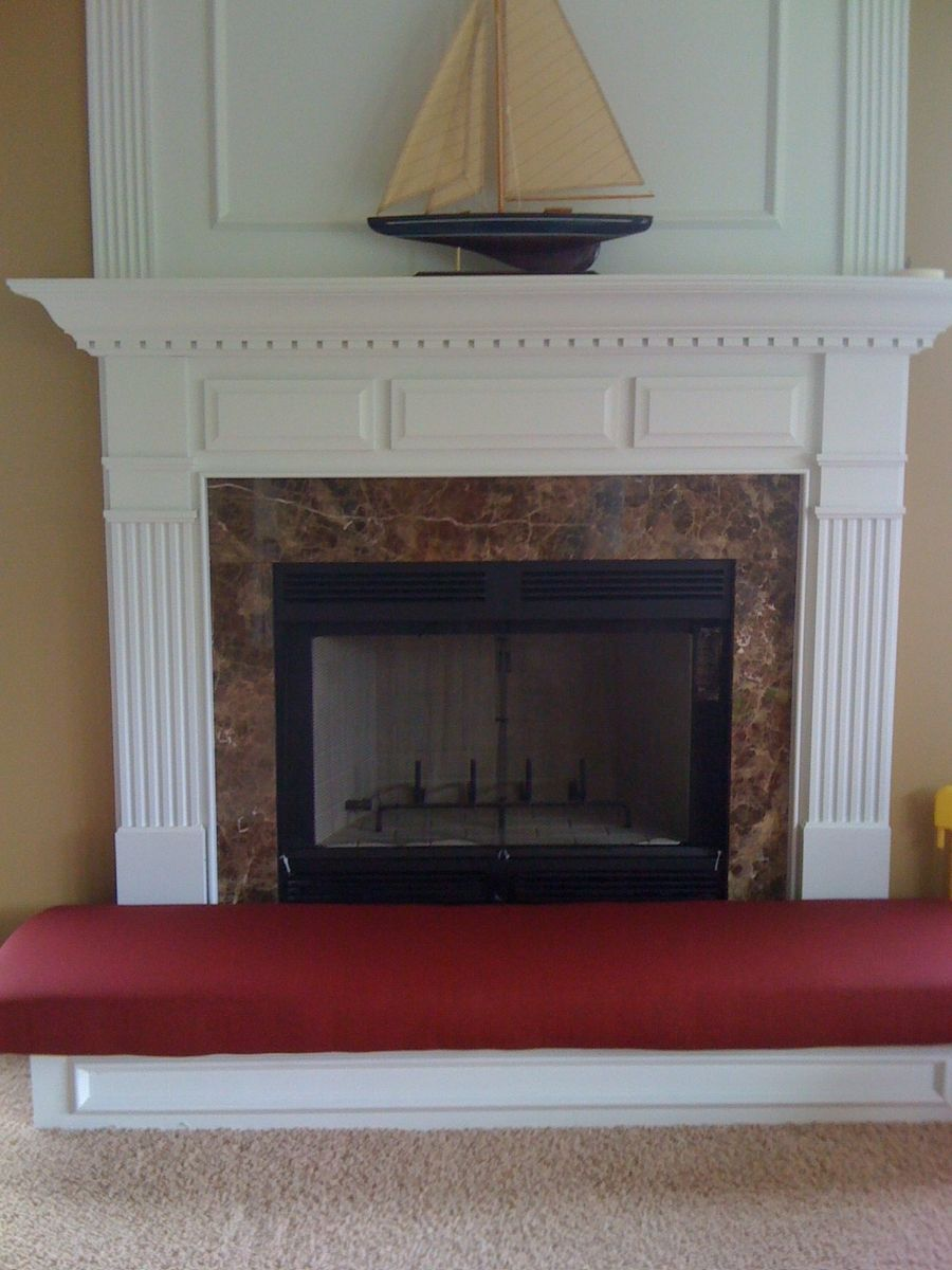 Hand Crafted Fireplace Hearth Safety Cushion by Hearth And Home ...