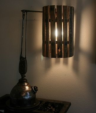 Custom Made End Table Lamp