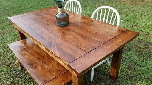 Custom Made Colonial Farmhouse Tables