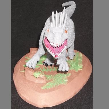 Custom Made Indominus Rex Sculpture