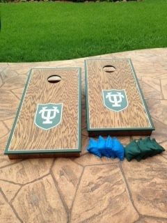 Custom Made My Outdoor Fun Custom Cornhole Boards Tulane