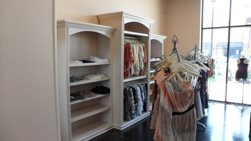 Custom Made Clothing Boutique Display Case