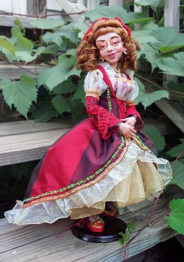 "Custom Made Ooak Art Doll ""Columbina"""