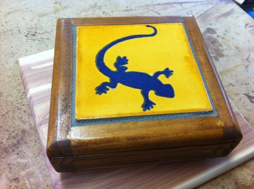 Custom Made Gem Box Coaster
