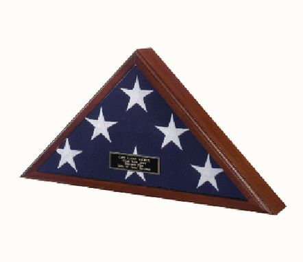 Custom Made Best Seller - Flag Display Case American Made!