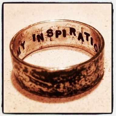 Custom Made You're My Inspiration Ring