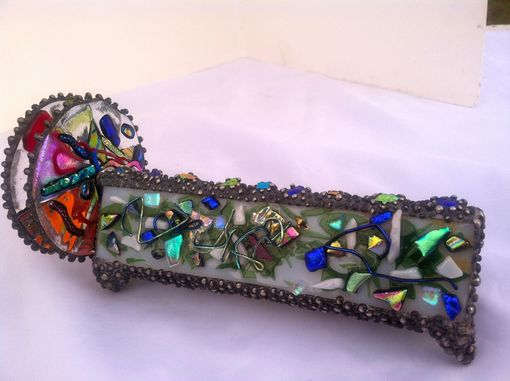 Custom Made Dichroic Glass Kaleidoscope