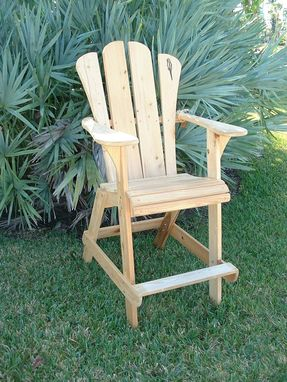 Custom Made Adirondack Chair - Extra Tall Design