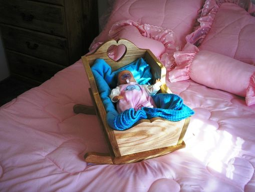 Custom Made Doll Cradle