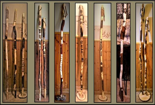 Custom Made Talking Stick,Child Gift, Hiking Stick,Walking Stick,Retirement Gift,Wood Anniversary Gift