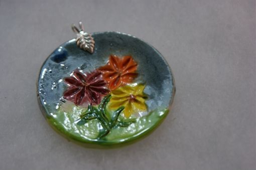 Custom Made Flower Garden Pendant