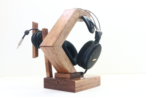 Custom Made Headphone Stand + Led Lamp