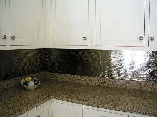 Custom Made Kitchen Back Splash