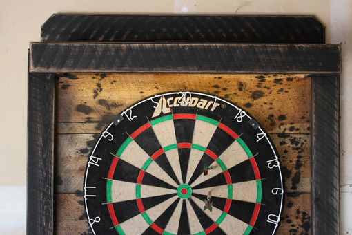 Custom Made Dartboard Cabinet Led Lights - Laser Line - Wi-Fi Voice/App Controlled