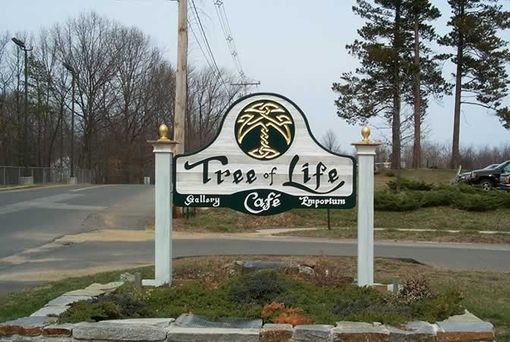 Custom Made Custom Carved Sign: Tree Of Life