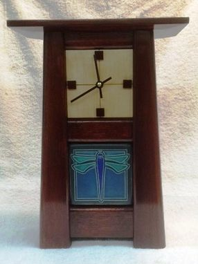 Custom Made Craftsman Style Clock
