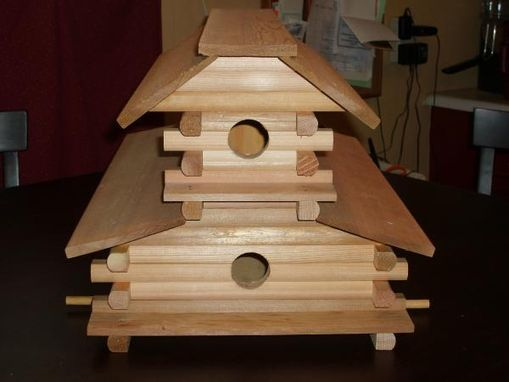 Custom Made Bird Motel