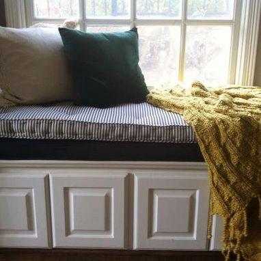 Custom Hand Tufted Mattress Cushion Window Seat Bench Day Bed