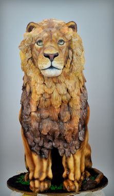 Custom Made Lion Sculpture