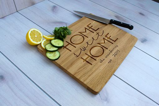 Custom Made Personalized Cutting Board, Engraved Cutting Board, Custom Wedding Gift – Cb-Wo- The Cranberries