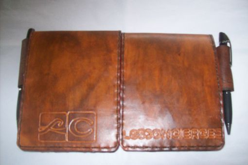 Custom Made Leather Notebooks