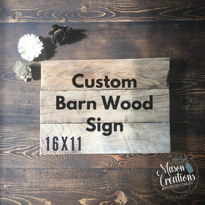 Custom Signs Personalized Wood Signs Custommadecom