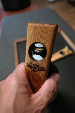 Custom Made Magnetic Wooden Bottle Opener