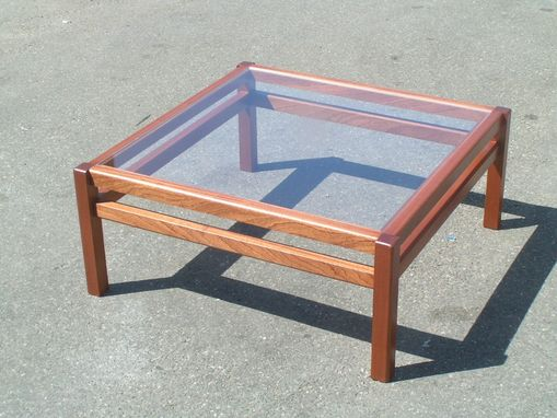 Hand Crafted Mahogany Coffee Table by Jared Hadfield ...