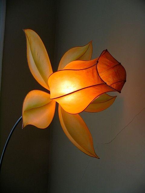 Hand Crafted Fuchsia Floor Lamp by HiiH Lights | CustomMade com
