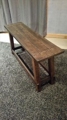 Custom Made Custom Bench-Rustic/Distressed