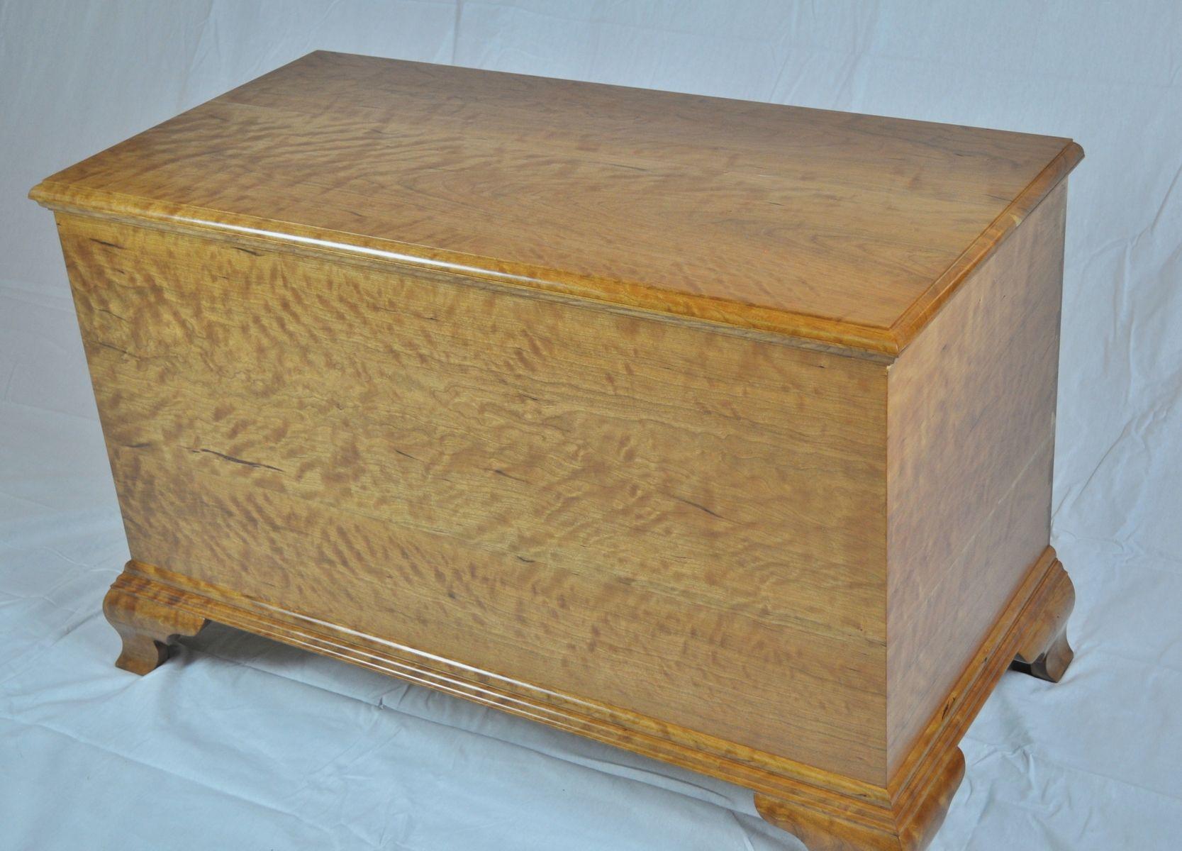 Handmade blanket chest by k smith custom woodworking for Blanket chest designs