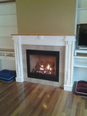Custom Made Fireplace Surrounds & Mantels