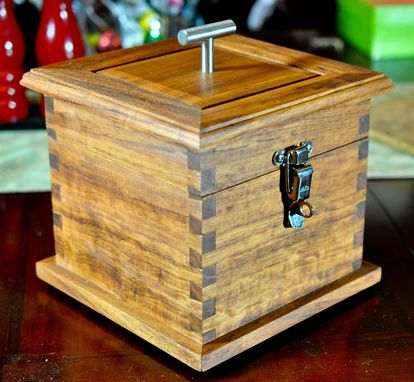 Custom Made Plunger Style Storage Box