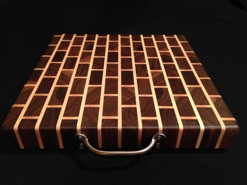 Custom Made Signature Design Black Walnut Bar Block / Chopping Block